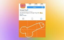 Celý svět přidává penisy na Instagram Burger Kingu poté, co údajně ukradli umělcovo dílo a použili ho ke komerční reklamě