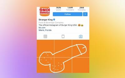 Celý svet pridáva penisy na Instagram Burger Kingu po tom, čo údajne ukradli umelcove dielo a použili ho na komerčnú reklamu
