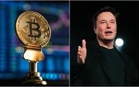 Cena Bitcoinu raketově vzrostla. Opět za to může tweet Elona Muska