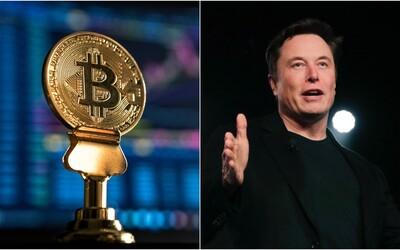 Cena bitcoinu raketovo vzrástla. Opäť za to môže tweet Elona Muska