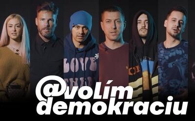 Cenzura, pobodaní kamarádi, rozehnané koncerty. Slovenští rapeři toho mají dost a apelují na lidi, aby nevolili extremisty