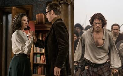 Čerstvý a pikantný trailer pre tretiu sériu Outlandera sa nesie v znamení veľkého opätovného stretnutia