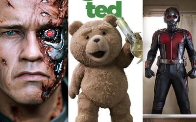 Červenec v kinech bude plný akce, humoru a vypocené krve