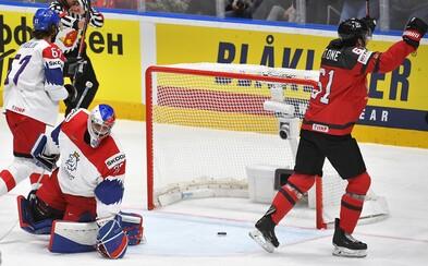 Češi nezvládají semifinále a prohrávají s Kanadou 1:5