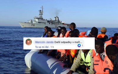Češi se opět radují ze smrti migrantů. Konečně dobrá zpráva, 50 utopených je málo, píší