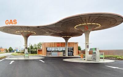 Češi zkopírovali design slovenské benzínky, soud expresně rozhodl o potupném postupu nápravy pro pražskou napodobeninu