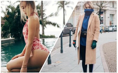 Česká blogerka Alexandra žije rapem a módou po boku Paulieho Garanda. V rozhovoru nám prozradila, jak vnímá Instagram či oblékání