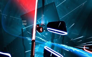 Česká hra slaví velký úspěch! Hit Beat Saber se stal nejprodávanějším VR titulem na PS4 za minulý měsíc