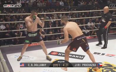 Česká MMA jednička Jiří Procházka poráží veterána UFC tvrdým KO a obhajuje titul šampiona!