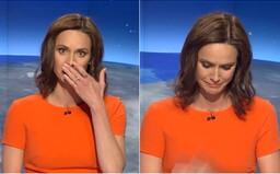 Moderátorka TV Nova se v přímém přenosu rozplakala během zprávy o slovenské prezidentce. Dojal ji týraný chlapeček