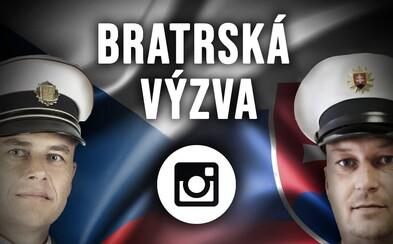 Česká polícia porazila na Instagrame slovenskú. Bratská výzva sa v závere zmenila na boj influencerov, ktorí profily zdieľali