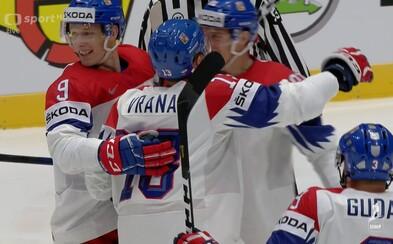 Česká republika po fantastickém výkonu poráží Švédsko 5:2