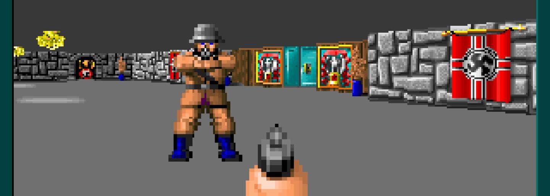 Česká retro střílečka Intrude ve stylu Wolfenstein 3D tě zavede do dob starých dobrých FPS akcí