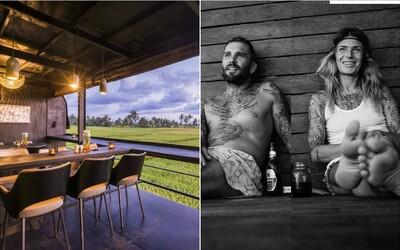 Česká rodina na Bali staví ekologické domy z kontejnerů. Do budoucna z nich plánují vystavět vlastní městečko (Rozhovor)