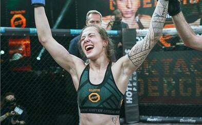 Česká Ronda Rousey porazila veteránku UFC Lucii Pudilovou! Epický turnaj Oktagon Underground 3 přinesl velkolepé bitvy