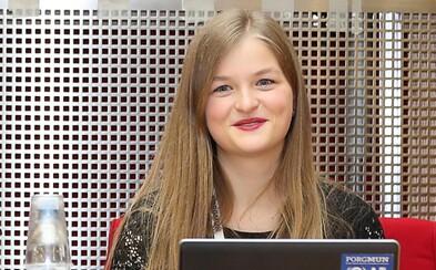 Češka Sára Davidová je nejúspěšnější maturantkou na světě