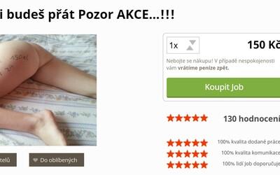 Česká studentka ti dovolí na její tělo napsat text za 150 korun. Tomu se říká marketing!