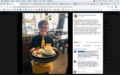 Češka žádá o záchranu kavárny, kde pracují handicapovaní. Příspěvek sdílelo už přes 50 tisíc lidí, posílají peníze i pomoc