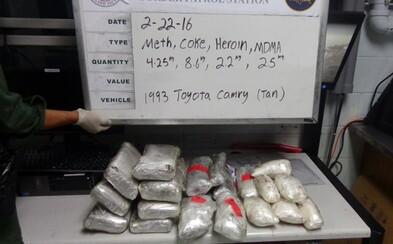 Českého řidiče zadrželi na dálnici v Německu. V autě převážel kokain za 26 milionů korun