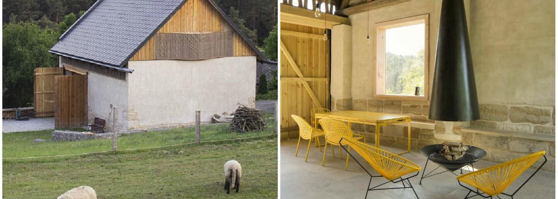 Českí architekti ti predvedú, ako si poradiť s rekonštrukciou 200-ročnej stodoly