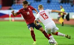 Česko 1:0 Bělorusko. Barák uchoval českou šanci na postup na mistrovství světa. V neděli se reprezentace představí v Bruselu