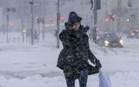 Česko čeká vichřice i sněhová kalamita. Napadnout by mělo až 10 cm nového sněhu