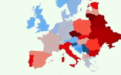 Česko i Slovensko patří k nejrasističtějším zemím Evropy. V testování nedopadly dobře ani Spojené státy americké