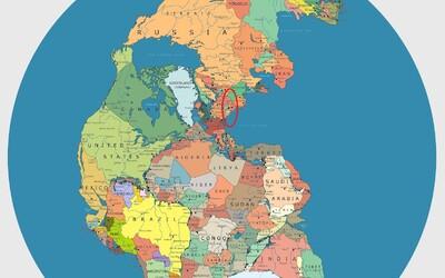Česko jen pár kilometrů od nekonečného oceánu. Kde by ležely země světa před 200 miliony lety?
