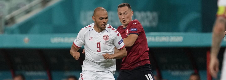 Česko na Euru končí. Dánsko postupuje po výsledku 1:2