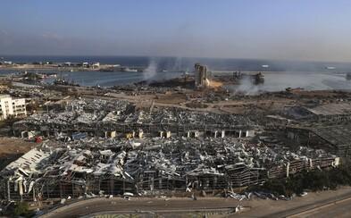 Česko pošle na pomoc Bejrútu 10 milionů korun. Vyšle i speciální tým na vyprošťování osob