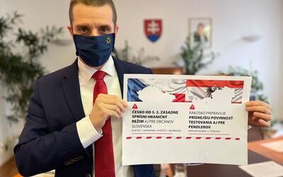 Česko zaradí Slovensko medzi vysoko rizikové krajiny a zatvorí hranice. Pridá sa aj Rakúsko