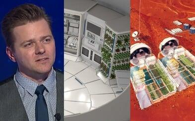 Český architekt se podílel na nejvyšším mrakodrapu Londýna, nyní navrhuje domy, ve kterých se bude bydlet na Marsu