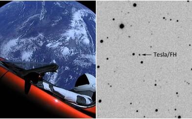 Český astronóm odfotil Teslu vo vesmíre. Unikátny záber elektromobilu na obežnej dráhe dokonca získal aj ocenenie