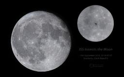 Český astronom vyfotil vesmírnou stanici ISS nad Pardubicemi