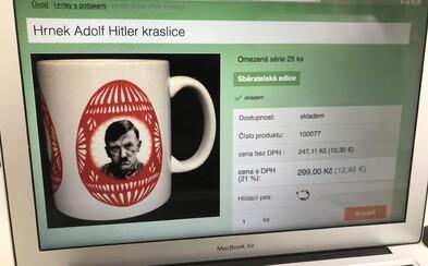 Český e-shop prodává velikonoční hrníčky s Hitlerem i Stalinem. Je to taková recese, hájí se majitel