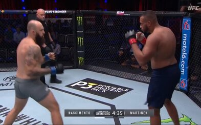 Český MMA šampion bojoval před šéfem UFC. Síly poměřil s neporaženým Brazilcem