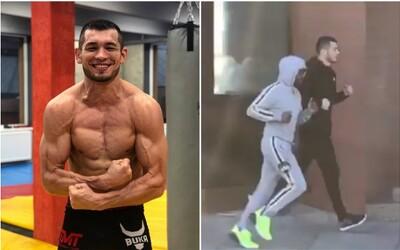 Český MMA zápasník si šel zaběhat po LA s Floydem Mayweatherem. Jak vypadá jejich trénink?