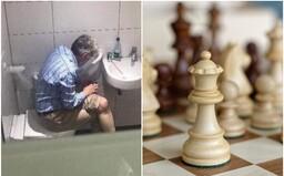 Český šachista byl přistižen, jak podvádí na záchodě s telefonem v ruce. Musel ukončit kariéru