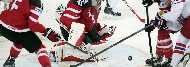Český tým navzdory velké bojovnosti podlehl favorizované Kanadě v poměru 6:3