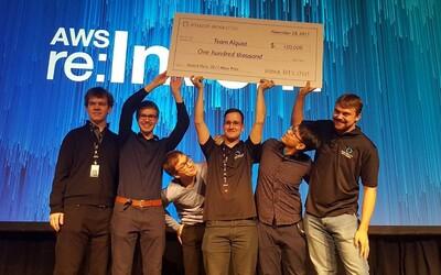 Český tým z ČVUT uspěl na soutěži Amazonu v Las Vegas a odnáší si 100 tisíc dolarů za vyvinutého chatbota