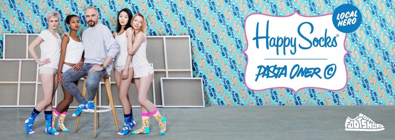 Český umělec Pasta Oner a jeho pop artové Happy Socks z edice Local Hero