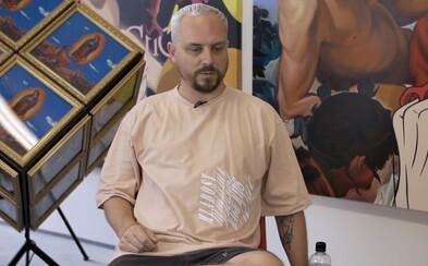 Český umělec Pasta Oner chtěl podporu od pražského magistrátu. Na Instagramu přitom sdílel, jak připravuje humry