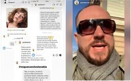 Český umělec Pasta Oner nechutně urážel mladé dívky, kterým se nelíbila jeho obálka s potetovaným Havlem