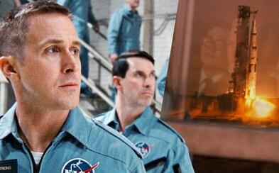 Cesta na Mesiac v podaní režiséra Whiplash a La La Land je podľa kritikov strhujúcim zážitkom. First Man ohromuje v ďalšej ukážke