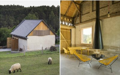Čeští architekti ti předvedou, jak si poradit s rekonstrukcí 200 let staré stodoly