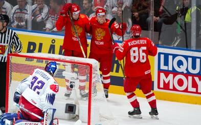 Čeští hokejisté podlehli Rusku 0:3
