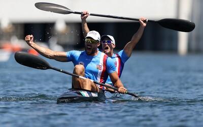 Čeští kanoisté mají bronz! Dostál a Šlouf uspěli v závodě deblkajaků na trati 1000 metrů