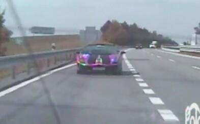 Cestou do Bratislavy po diaľnici v Lamborghini uháňal cez 200 km/h. Chystal sa otestovať svoje vodičské zručnosti na okruhu