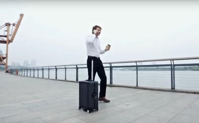 Cestovná batožina, ktorú netreba ťahať, nakoľko vás bude sama nasledovať