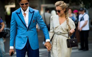 Cez Londýn a Miláno sa dostaneme až do Paríža prostredníctvom Street Style záberov z tamojších týždňov módy